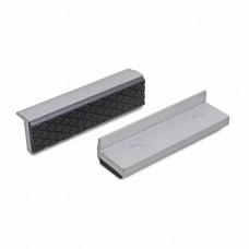 Сменные зажимные губки для тисков из алюминия и резины с магнитом 100 мм (2 штуки) Bernstein 9-900-S8100