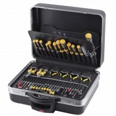 Набор инструментов COMPACT MOBIL  (панель 7010, 7020, 7030) в чемодане PROTECTION XL без колёс (61 предмет) Bernstein 7000 OR