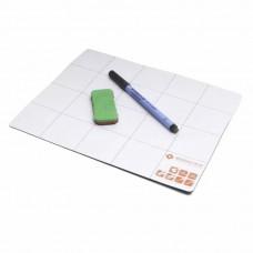 Магнитная доска с ручкой и губкой Bernstein 2-119