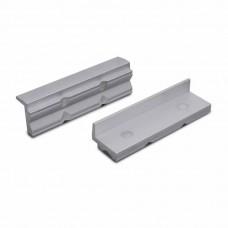 Сменные зажимные губки для тисков из алюминия с канавками с магнитом 100 мм (2 штуки) Bernstein 9-900-S9100