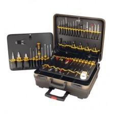"""Сервис-набор для работы с электроникой Bernstein 7000 """"COMPACT MOBIL"""" из 62 предметов (Вариант 7010, 7020, 7030)"""